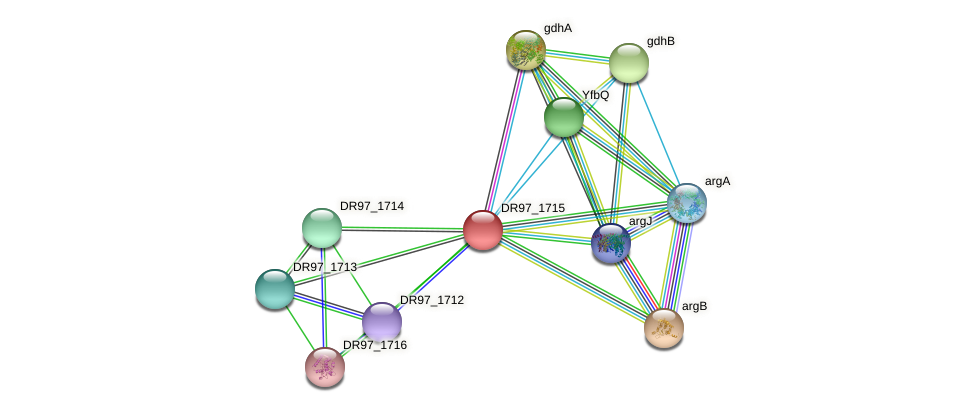 DR97_1715 protein (Pseudomonas aeruginosa) - STRING interaction network