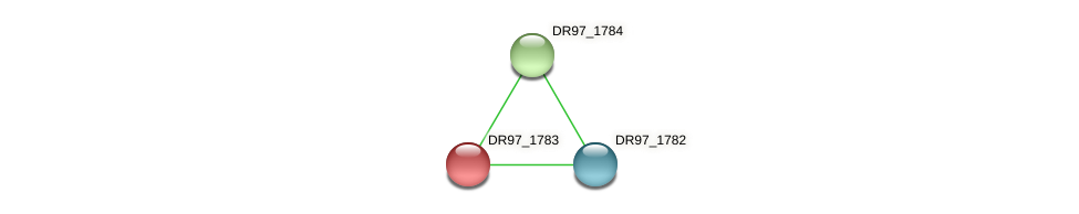 DR97_1783 protein (Pseudomonas aeruginosa) - STRING interaction network