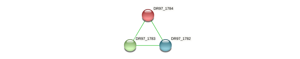 DR97_1784 protein (Pseudomonas aeruginosa) - STRING interaction network