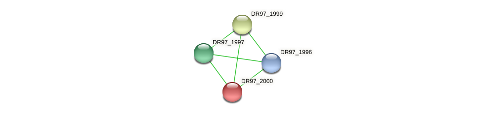 DR97_2000 protein (Pseudomonas aeruginosa) - STRING interaction network