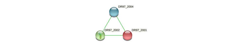 DR97_2001 protein (Pseudomonas aeruginosa) - STRING interaction network