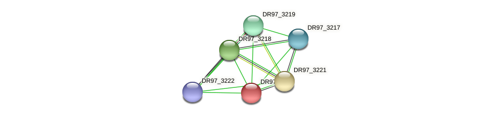 DR97_3220 protein (Pseudomonas aeruginosa) - STRING interaction network