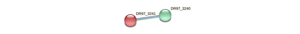 DR97_3241 protein (Pseudomonas aeruginosa) - STRING interaction network