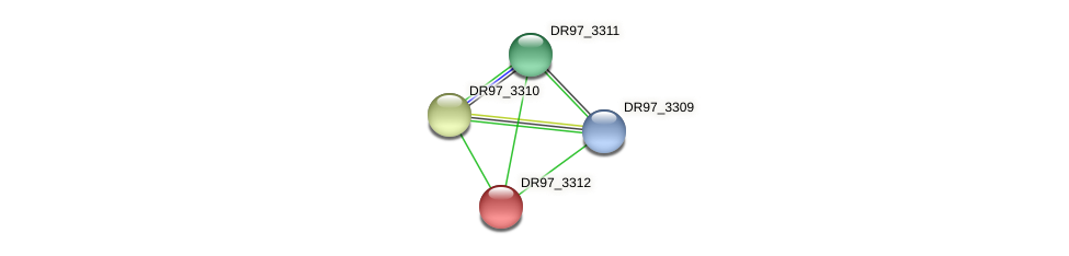 DR97_3312 protein (Pseudomonas aeruginosa) - STRING interaction network