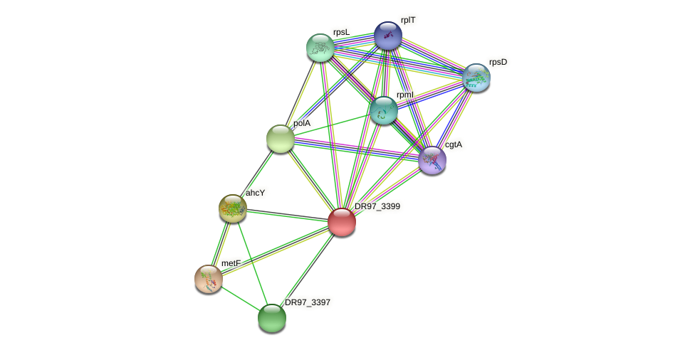 DR97_3399 protein (Pseudomonas aeruginosa) - STRING interaction network