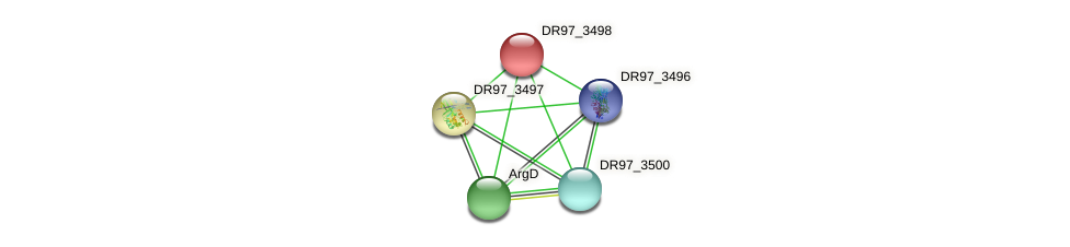 DR97_3498 protein (Pseudomonas aeruginosa) - STRING interaction network