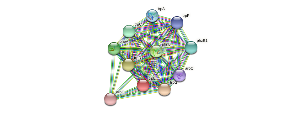 DR97_3578 protein (Pseudomonas aeruginosa) - STRING interaction network