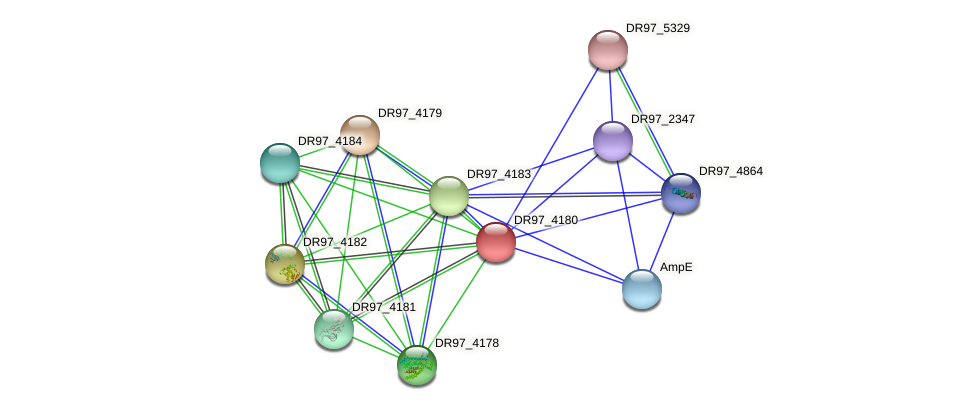 DR97_4180 protein (Pseudomonas aeruginosa) - STRING interaction network