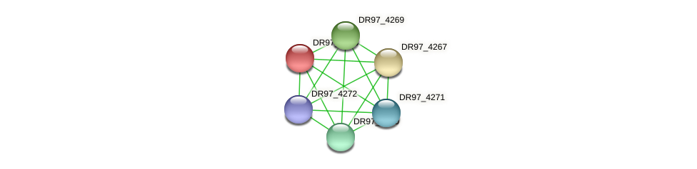 DR97_4268 protein (Pseudomonas aeruginosa) - STRING interaction network