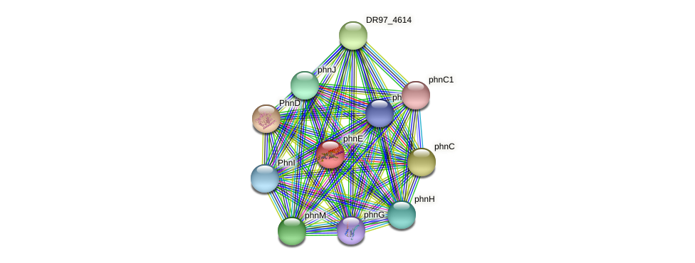 DR97_4540 protein (Pseudomonas aeruginosa) - STRING interaction network