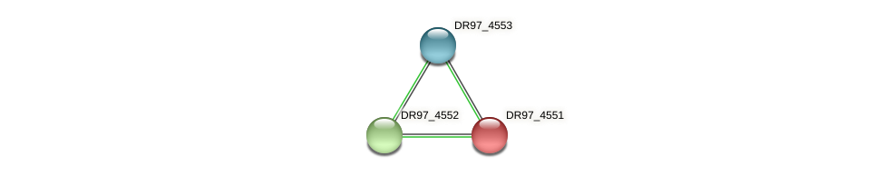 DR97_4551 protein (Pseudomonas aeruginosa) - STRING interaction network