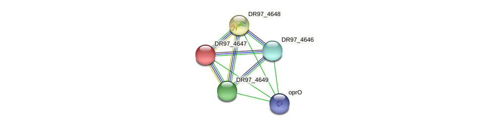DR97_4647 protein (Pseudomonas aeruginosa) - STRING interaction network