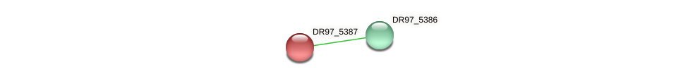 DR97_5387 protein (Pseudomonas aeruginosa) - STRING interaction network