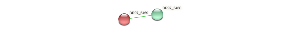 DR97_5469 protein (Pseudomonas aeruginosa) - STRING interaction network