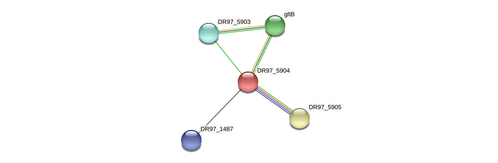 DR97_5904 protein (Pseudomonas aeruginosa) - STRING interaction network