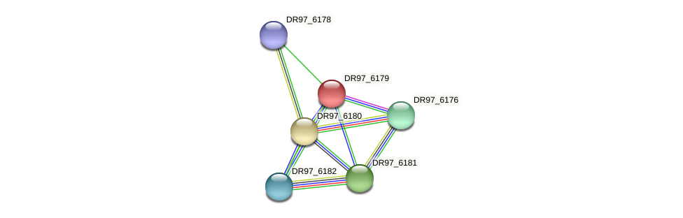 DR97_6179 protein (Pseudomonas aeruginosa) - STRING interaction network