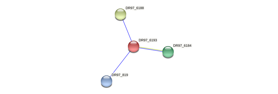 DR97_6193 protein (Pseudomonas aeruginosa) - STRING interaction network