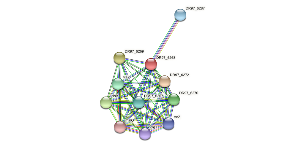 fdh protein (Pseudomonas aeruginosa) - STRING interaction network