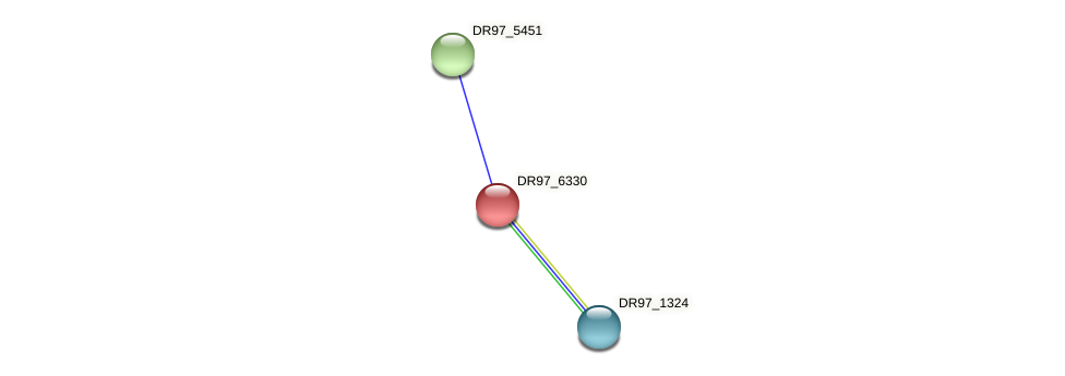 DR97_6330 protein (Pseudomonas aeruginosa) - STRING interaction network