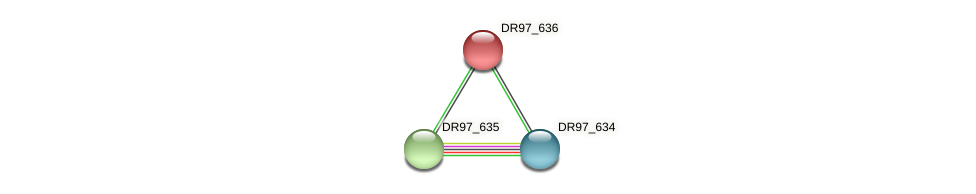 DR97_636 protein (Pseudomonas aeruginosa) - STRING interaction network