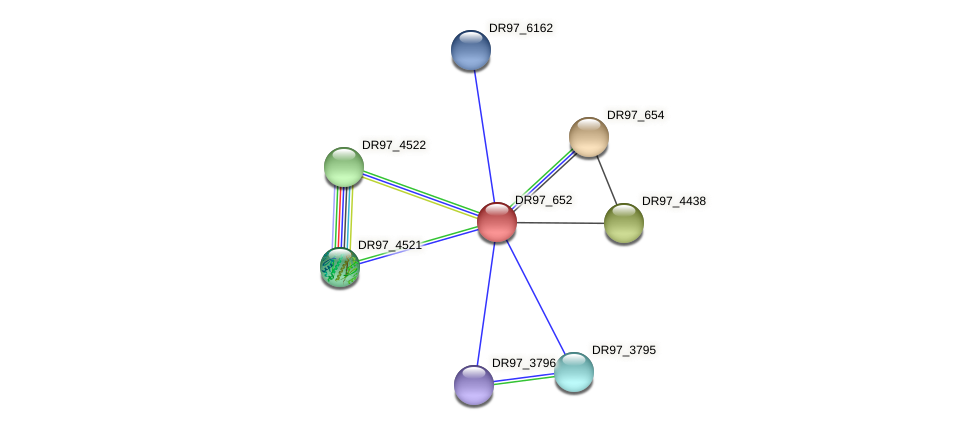 DR97_652 protein (Pseudomonas aeruginosa) - STRING interaction network