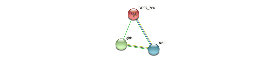 DR97_780 protein (Pseudomonas aeruginosa) - STRING interaction network