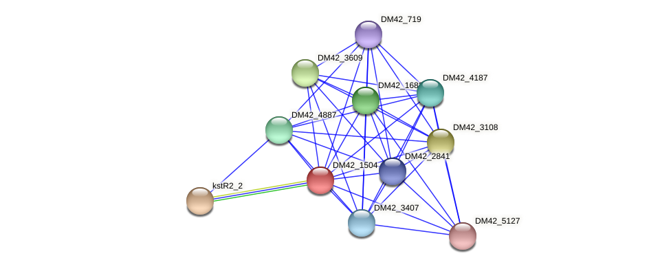 WI67_01365 protein (Burkholderia cepacia) - STRING interaction network