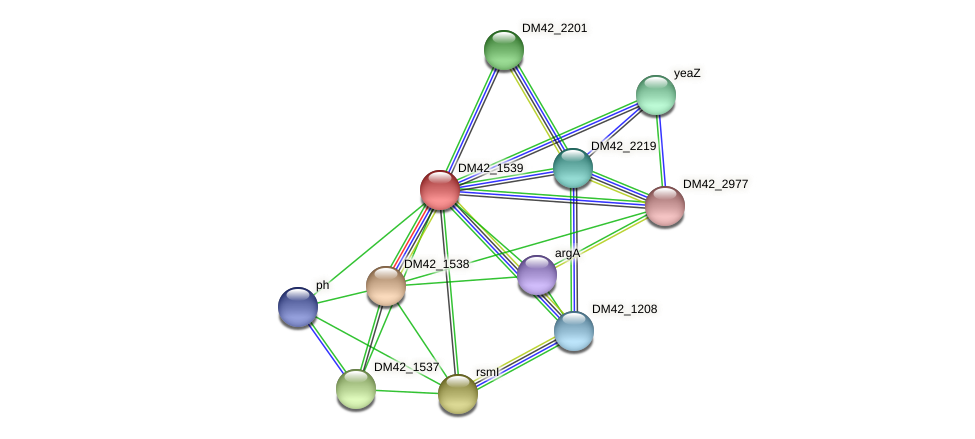 WL94_03000 protein (Burkholderia cepacia) - STRING interaction network