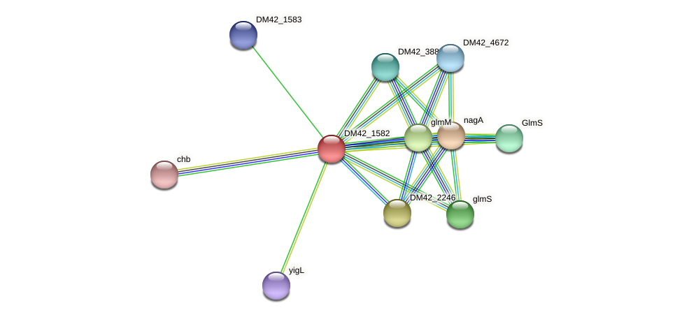 WL94_03220 protein (Burkholderia cepacia) - STRING interaction network