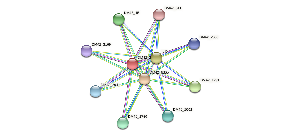 WI67_15995 protein (Burkholderia cepacia) - STRING interaction network