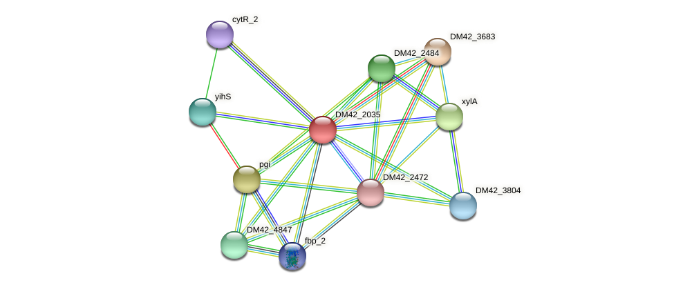WL94_30515 protein (Burkholderia cepacia) - STRING interaction network