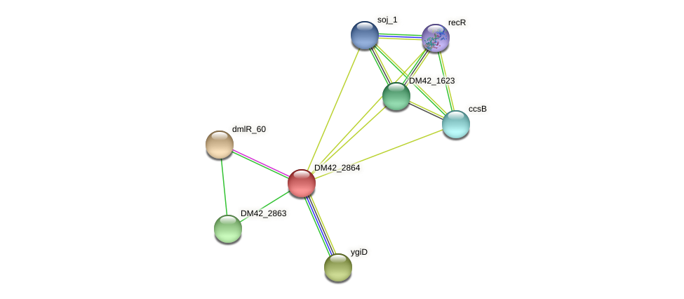 WL94_39740 protein (Burkholderia cepacia) - STRING interaction network