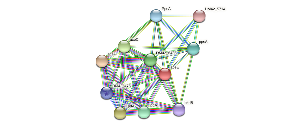 WI67_11565 protein (Burkholderia cepacia) - STRING interaction network