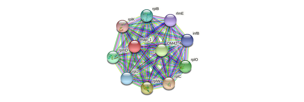 WL94_30820 protein (Burkholderia cepacia) - STRING interaction network