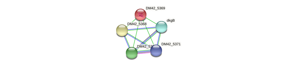 WL94_25965 protein (Burkholderia cepacia) - STRING interaction network