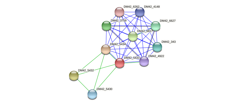 WL94_02475 protein (Burkholderia cepacia) - STRING interaction network