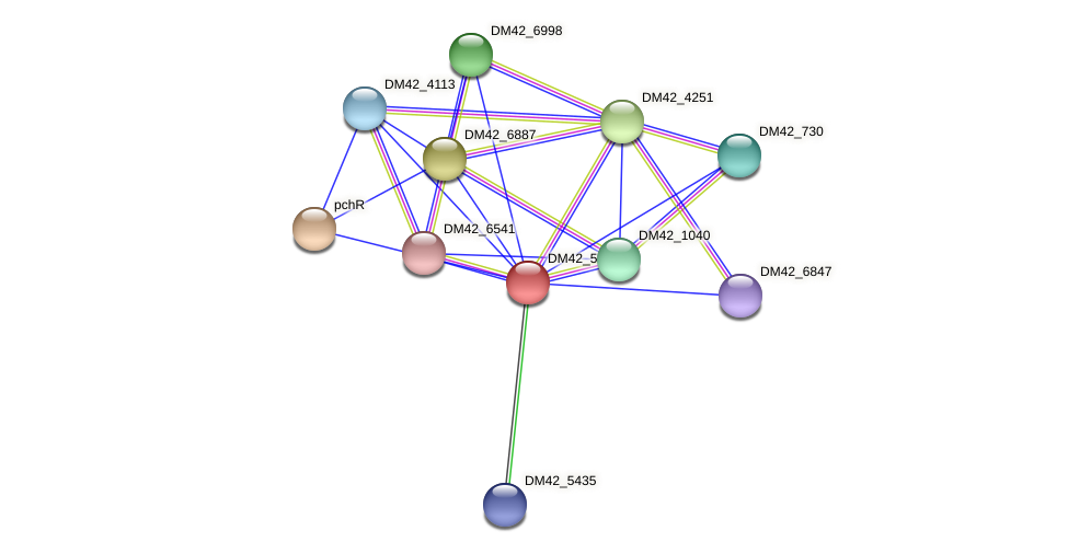 WL94_02490 protein (Burkholderia cepacia) - STRING interaction network