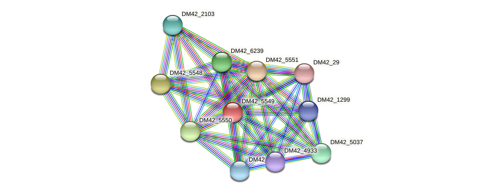 WL94_32535 protein (Burkholderia cepacia) - STRING interaction network