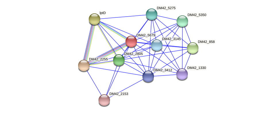 WI67_29390 protein (Burkholderia cepacia) - STRING interaction network