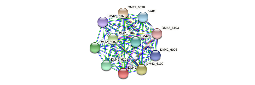 WL94_34555 protein (Burkholderia cepacia) - STRING interaction network