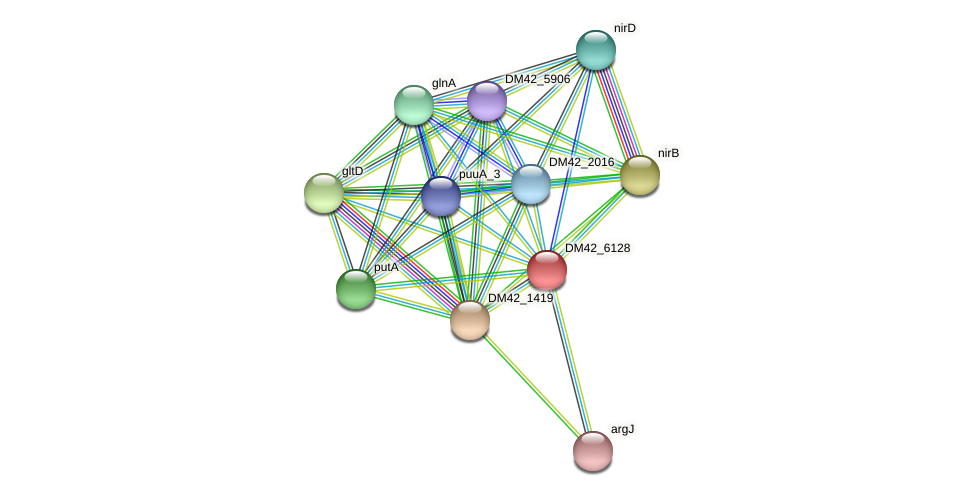 WL94_34685 protein (Burkholderia cepacia) - STRING interaction network
