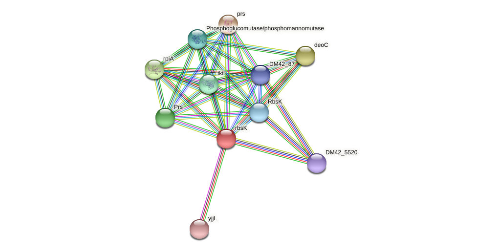 WL94_33775 protein (Burkholderia cepacia) - STRING interaction network