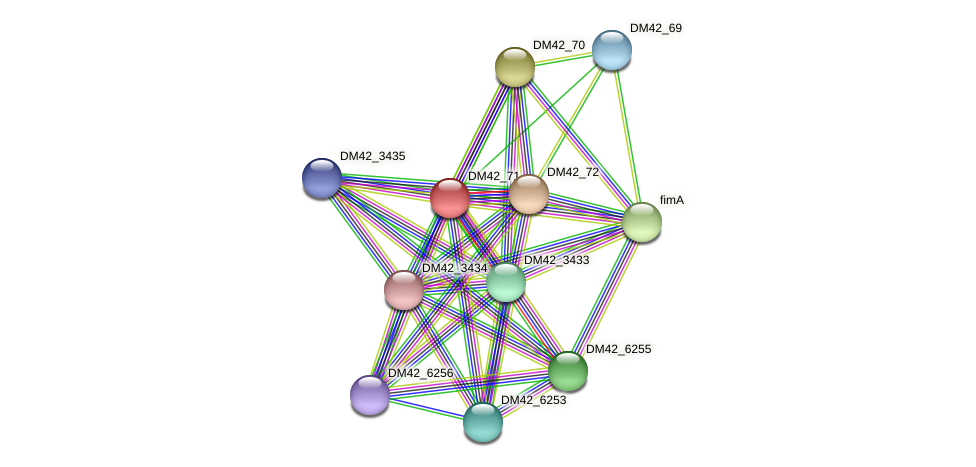 WL94_28930 protein (Burkholderia cepacia) - STRING interaction network