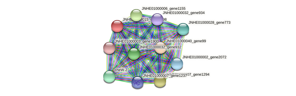 JNHE01000015_gene4398 protein (Pseudomonas oleovorans) - STRING interaction network