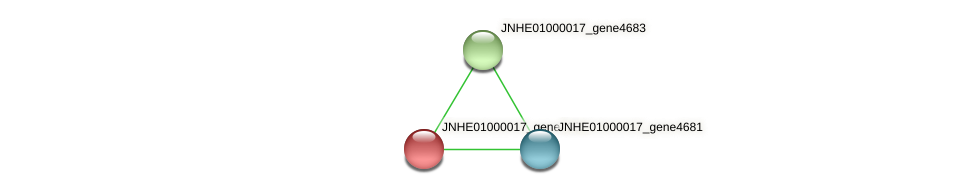 JNHE01000017_gene4682 protein (Pseudomonas oleovorans) - STRING interaction network