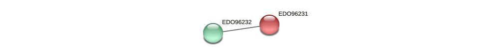 EDO96231 protein (Chlamydomonas reinhardtii) - STRING interaction network
