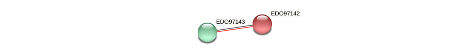EDO97142 protein (Chlamydomonas reinhardtii) - STRING interaction network