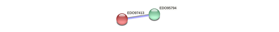 EDO97413 protein (Chlamydomonas reinhardtii) - STRING interaction network