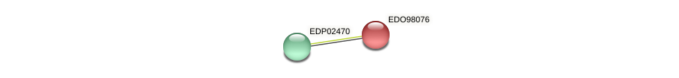 EDO98076 protein (Chlamydomonas reinhardtii) - STRING interaction network
