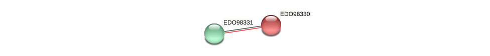 EDO98330 protein (Chlamydomonas reinhardtii) - STRING interaction network